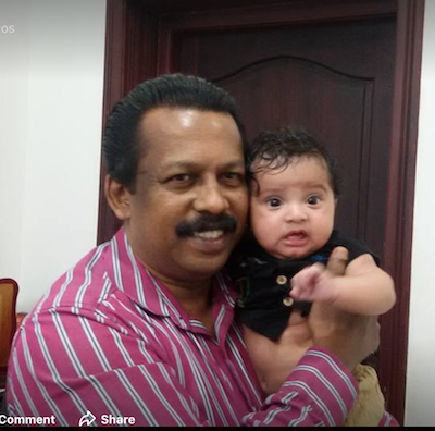 Kerala Homoeopath Dr Dileep with 1788th homoeopathic baby