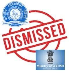 Image result for Govt of India dismissed Central Council of Homoeopathy and appointed Board of Governors